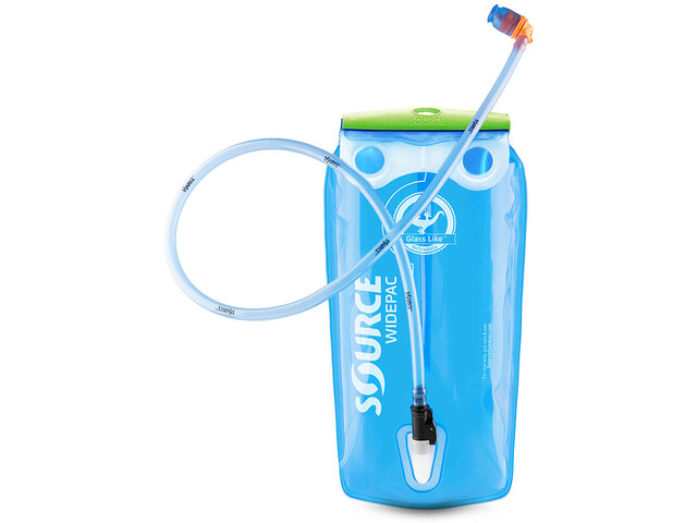 SOURCE Widepac LP Poche d'eau 3l, transparent/blue